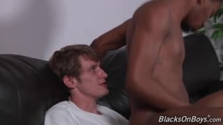 Lucas Shaw puts his dick in a black guys ass!