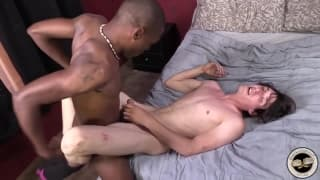 Caleb Andrews wants to fuck this black guy