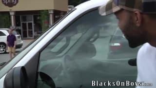 Jayden Jones loves to enjoy a black dick