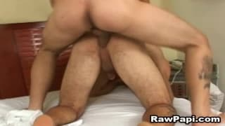 Both Latino men love to fuck together