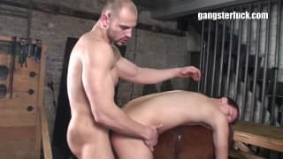 Two gay guys who both enjoy domination