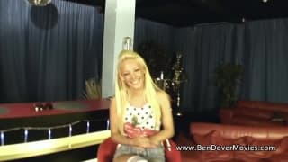 Lou Lou Petite is with Ben Dover having sex