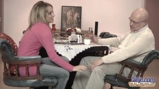 Aleska Diamond loves fucking old men!