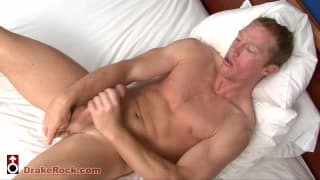 Brian Briggs enjoys jerking off on camera