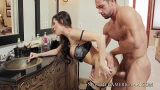 Kortney Kane has sex with Johnny Castle