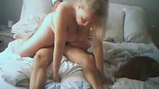 A sex session with an amateur couple!