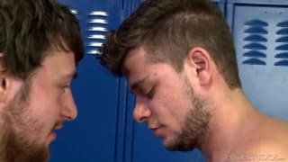 A gay scene with AJ Monroe and Scott Harbor