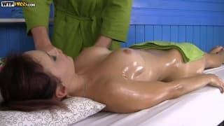 Olivia gets a wonderful sex filled massage!