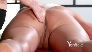 This blonde likes a gentle seductive massage
