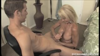 Erica Lauren has the urge to fuck a young guy
