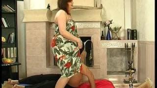 A cougar woman who seduces a young guy!