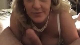 Oral sex to please her husband with
