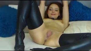 This beautiful redhead is eager for sex