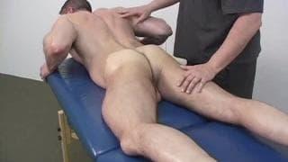 Todd Maxwell and Jake enjoy a sensual massage