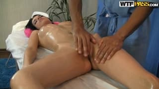 Lily is gonna enjoy this massage for sure!