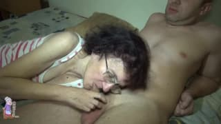 Veronika an old slut screwing younger ones