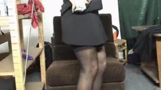A horny blonde milf uses her new dildo!
