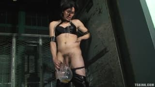 Foxi is a transsexual dominatrix
