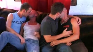 Three gay friends make the most of each other