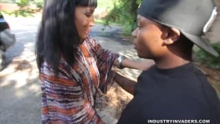 Nina Starr knows what to do with a black dick