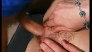 She loves to have her hairy pussy fucked