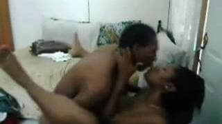 This black amateur couple are caught on cam