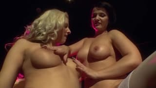 Maria Mia and Sybella love to play together
