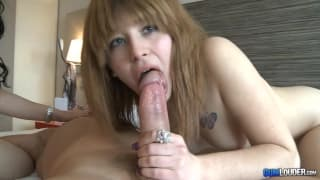 Azahara has her ass nailed in this threesome