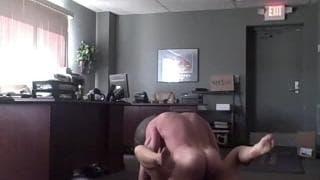 This secretary is fucking her boss!