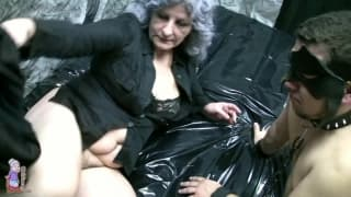 This granny loves to screw younger men