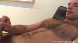 Mikey Camin jerks off his hard dick!