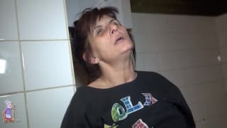 A mature woman named Vlasta is masturbating
