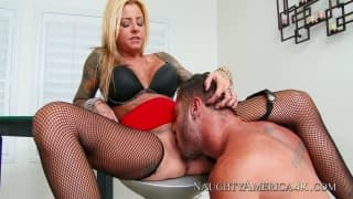 Britney Shannon and her friend Danny Mountain