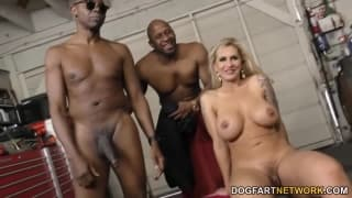Ryan Conner enjoys this exciting threesome