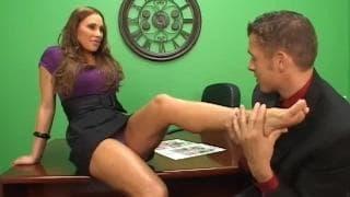 Sky Taylor enjoys fucking her colleague
