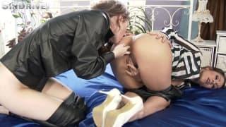 Misha Cross eats the ass of Samia Duarte