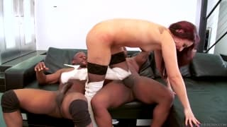 This milf loves big black cocks inside her