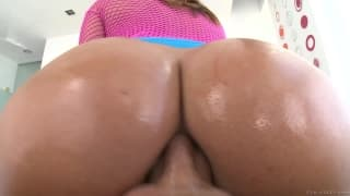 Keisha Grey loves this huge cock in her ass