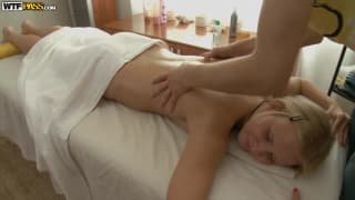 Young blonde looking for a sexual massage