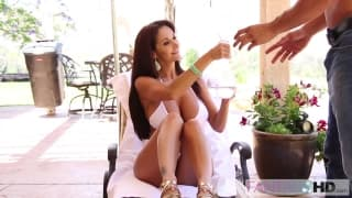 Ava Addams is a very horny French woman