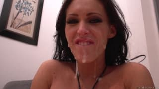 Jenna gets fucked hard and takes 5 loads