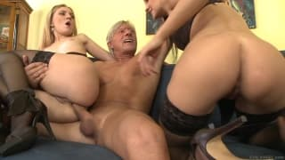 Two bitches who are very excited to fuck
