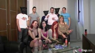A Spanish orgy to enjoy on camera