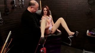 Brittany St. Jordan gets spanked hard