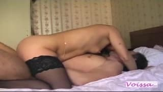 This amateur couple shows us how they fuck