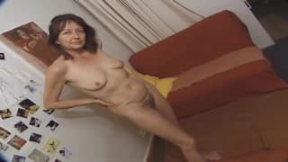 A mature woman gets fucked at home