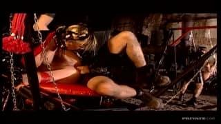 Monique Covet enjoys some BDSM today