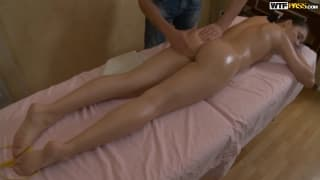 Young Girl Gets her Pussy Fucked by Masseur