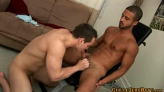Dylan Roverts and Damian Taylor enjoy sex