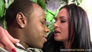 Tory Lane takes a big black dick on the couch